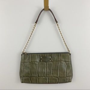 Kate Spade Green Leather